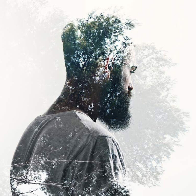 What to expect with graphic design for 2018: Double exposure