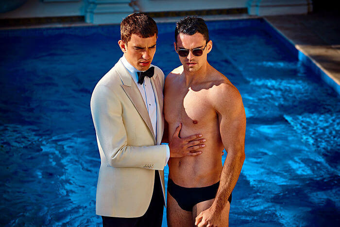 Suit company loses of online followers after releasing same-sex ads