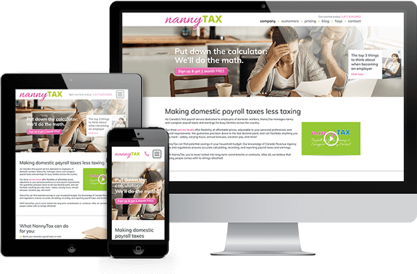 Daniel Swanick Website Design Services: Responsive Website Design