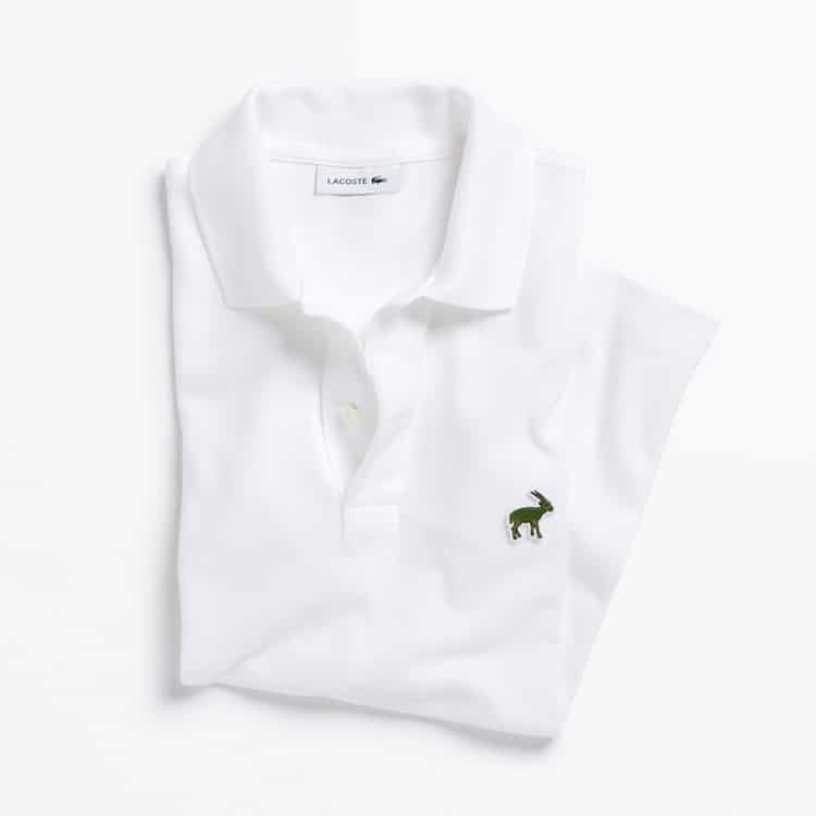 Limited Edition Lacoste Endangered Species Polos: Saola