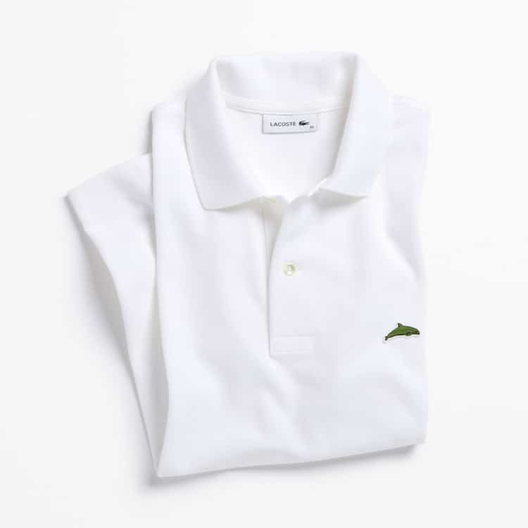 Limited Edition Lacoste Endangered Species Polos: Vaquita