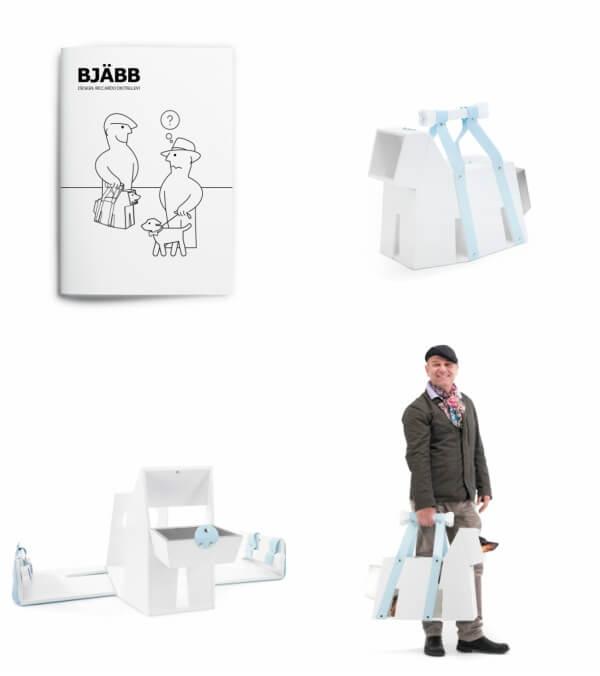 BJÄBB by IDEA, an IKEA parody