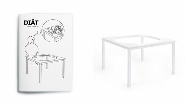 DIÄT by IDEA, an IKEA parody