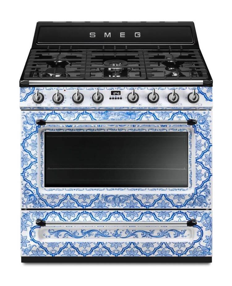 Dolce & Gabbana's Smeg kitchen appliances