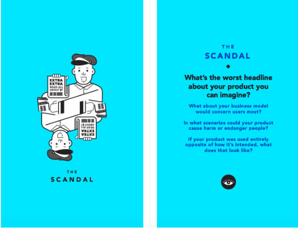 Tarot Cards of Tech: The Scandal