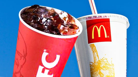McDonald's & KFC begin phasing out plastic straws