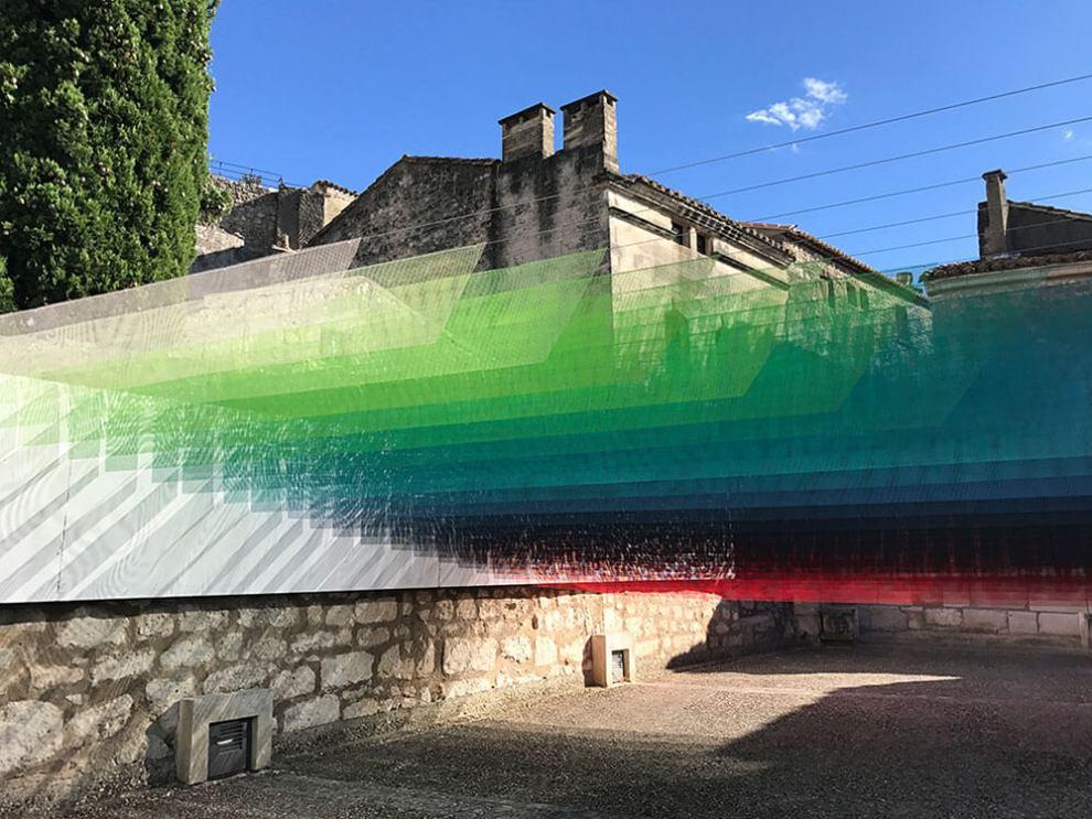 Quintessenz Pixelated Art Installation: Paradis Perdus