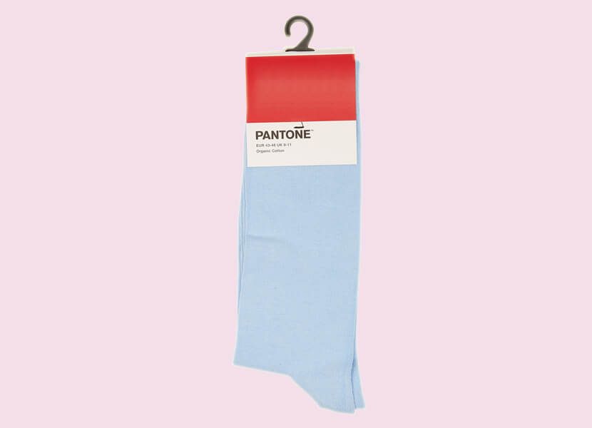 For the love of colour: Now you can put on Pantone socks