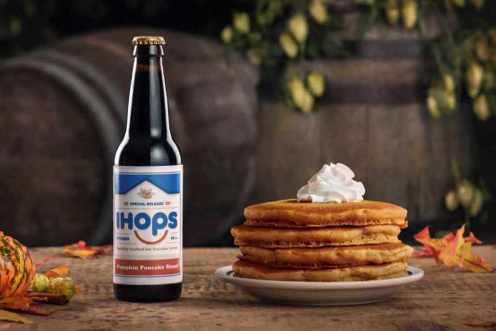 IHOP surprises fans with pumpkin pancake beer dubbed IHOPS