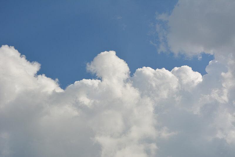 Free Photoshop textures: Cloud texture