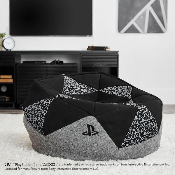 Sony PlayStation furniture: Bean bag chairs