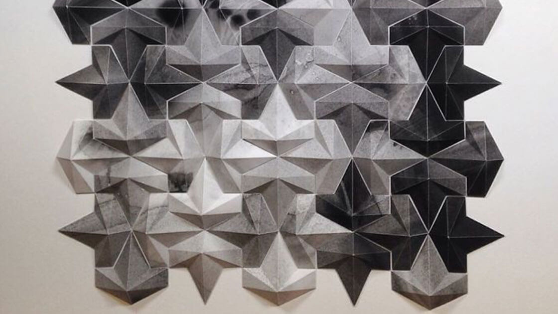 Matthew Shlian turns paper into stunning geometric art