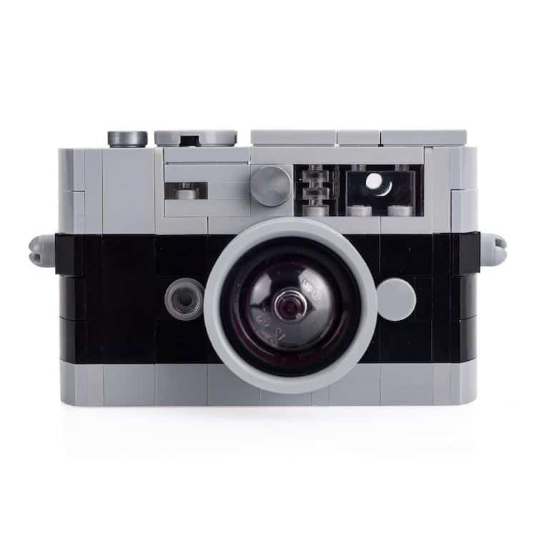 Leica M camera LEGO kits: Black/Grey