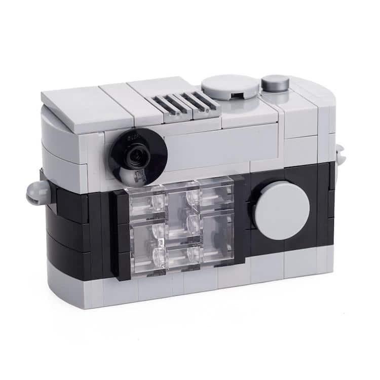 Leica M camera LEGO kits: Black/Grey