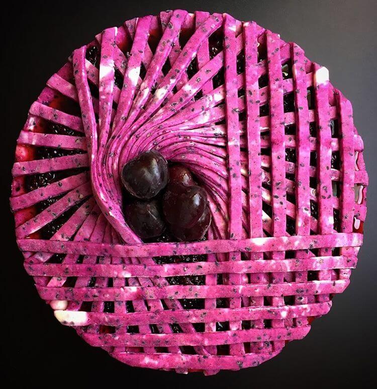 Geometric pies by Lauren Ko