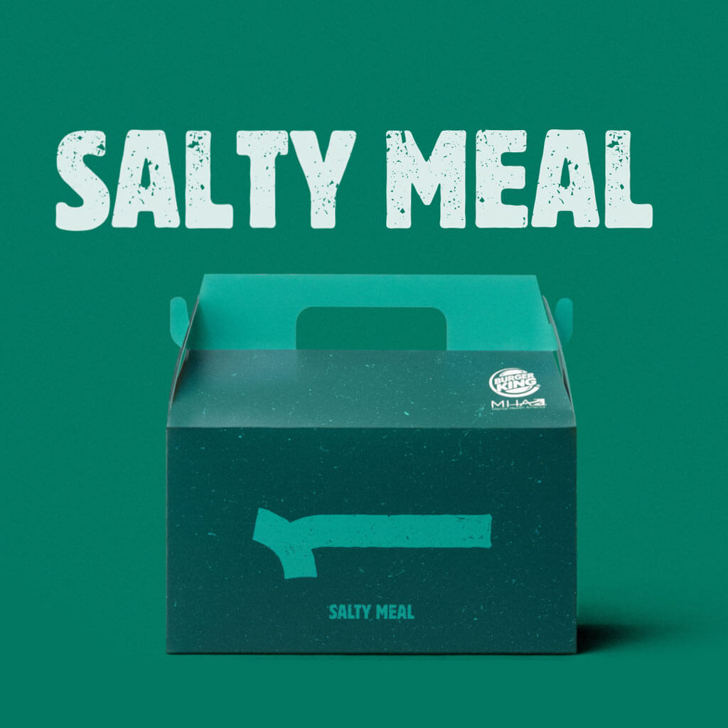 The Real Meal: Salty