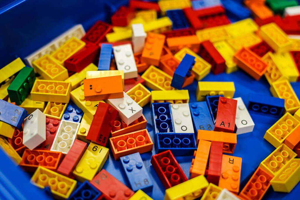 LEGO's Braille Bricks in collaboration with visual impairment organizations