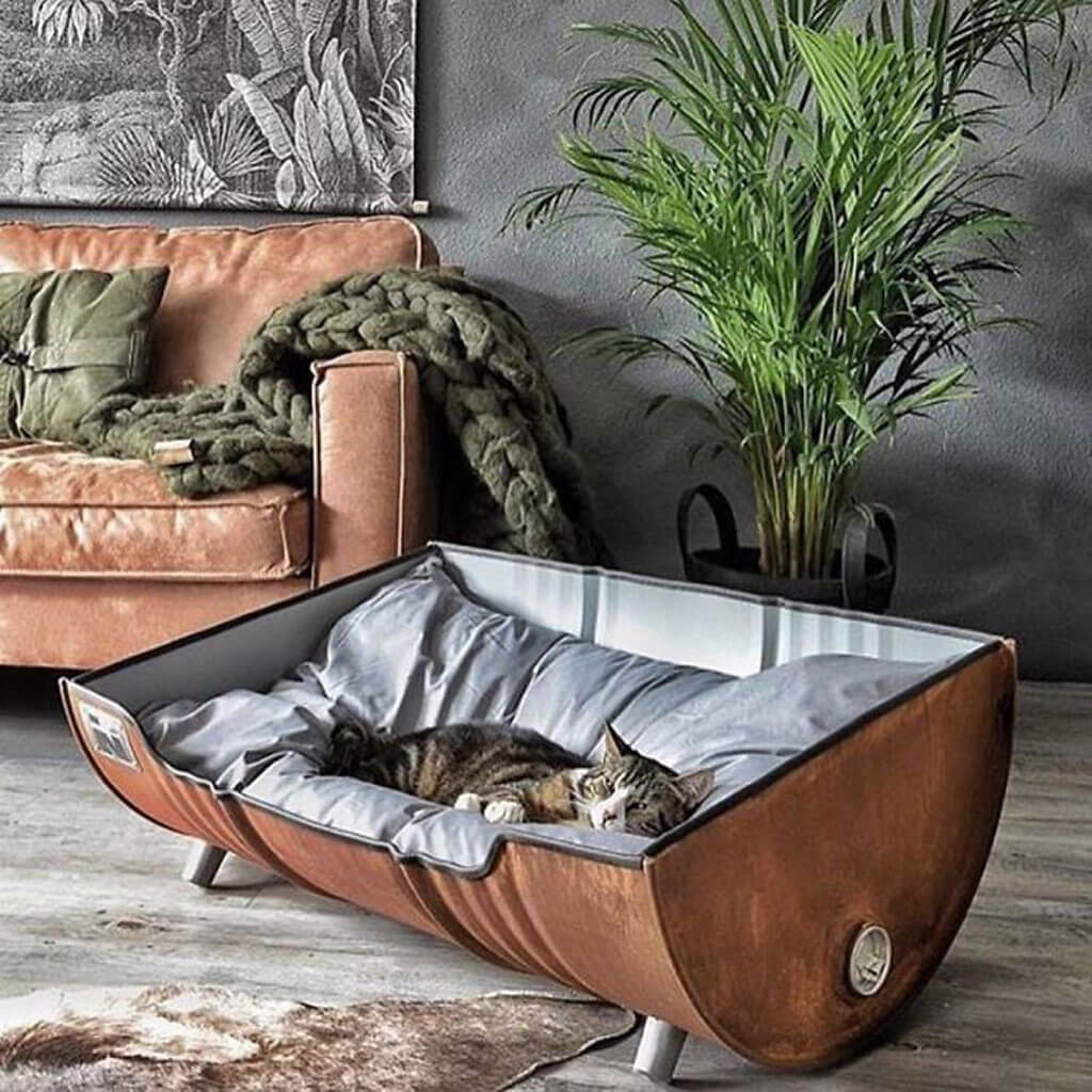 Instagram page showcases pet bed