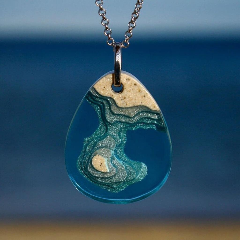 Beach necklace by Britta Boeckmann