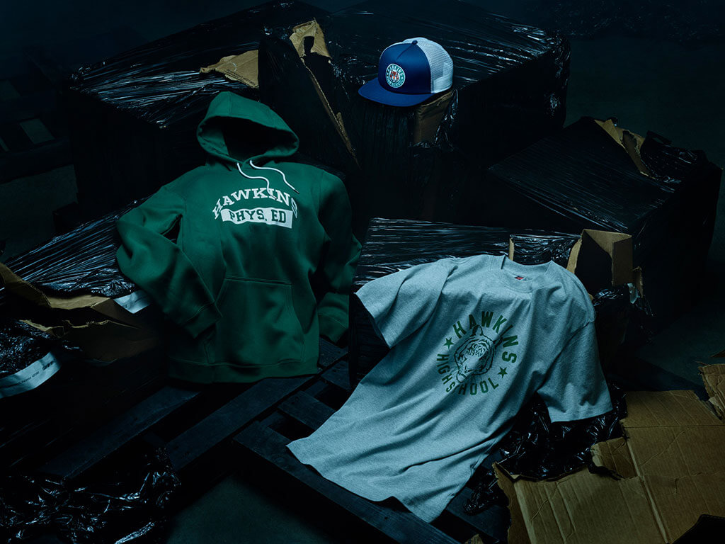 Nike's Stranger things collection apparel