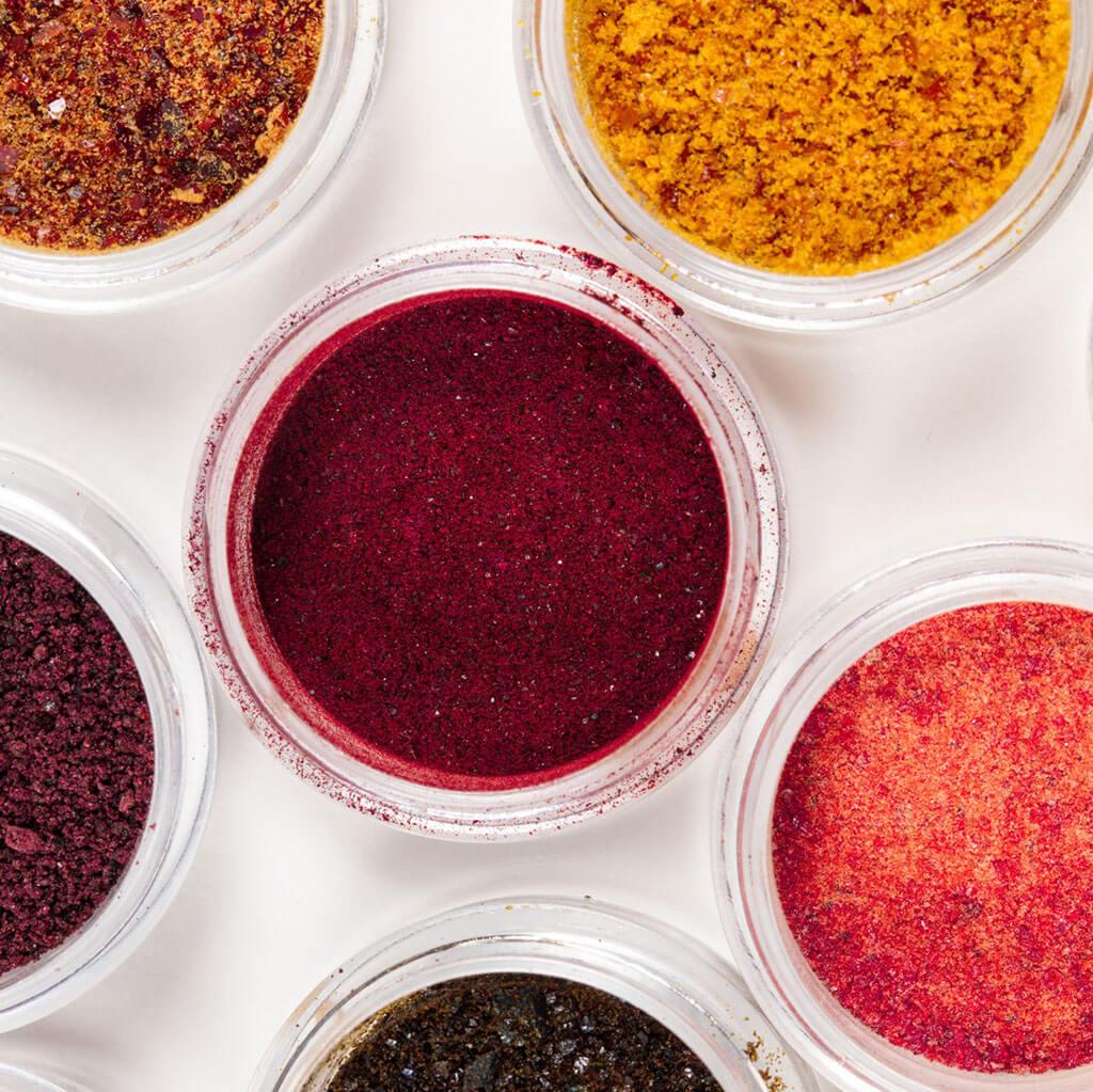 Kaiku powdered pigments