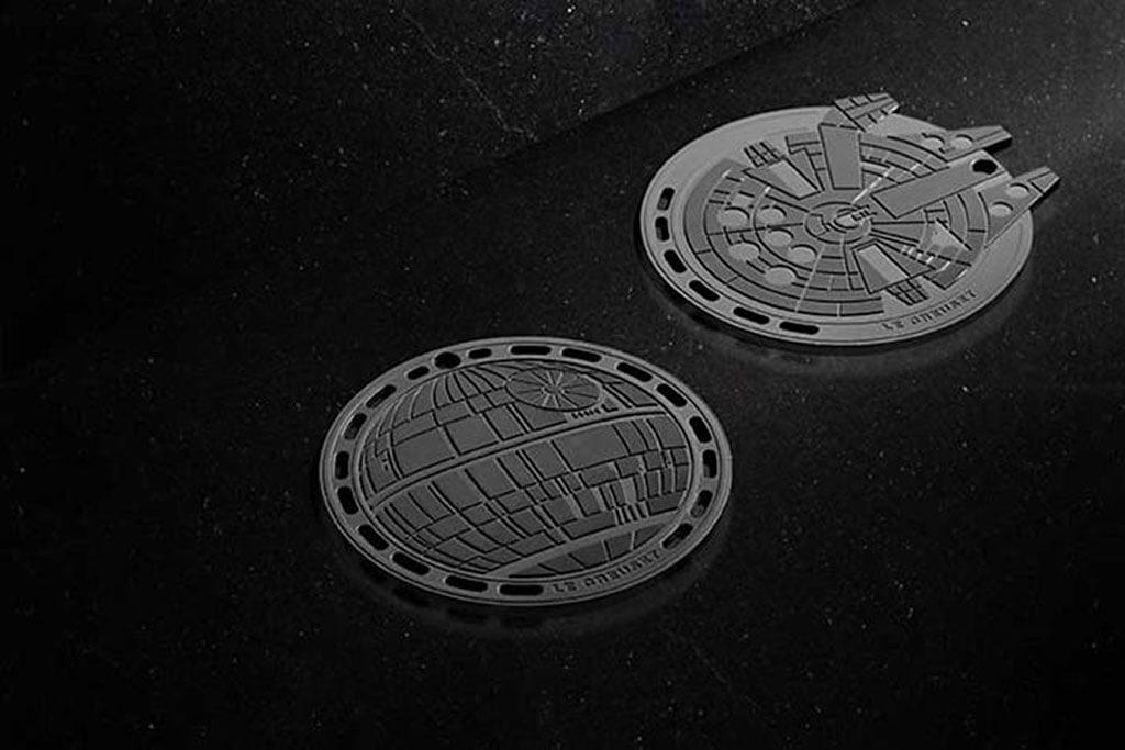 Death Star™ & Millennium Falcon™ Trivet