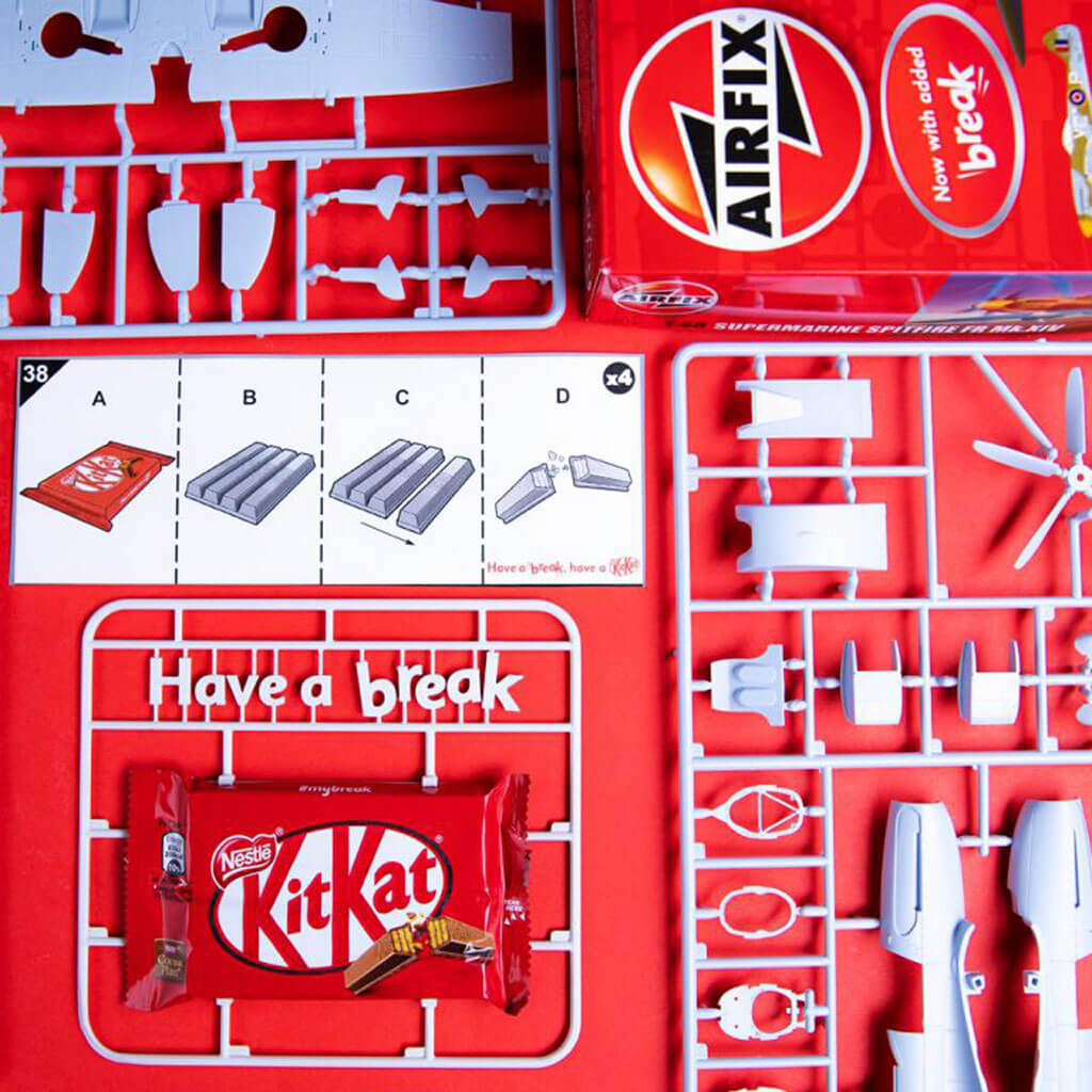 The KitKat Kit by Airfix