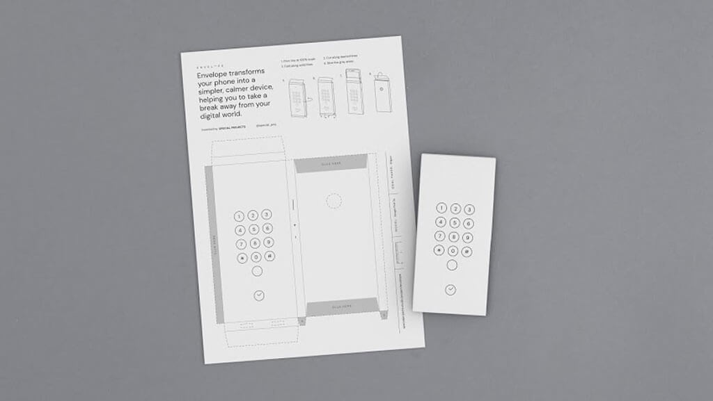 Download and print a paper envelope