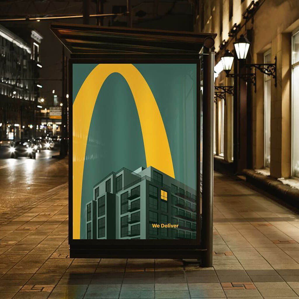 McDonald's Lights On campaign
