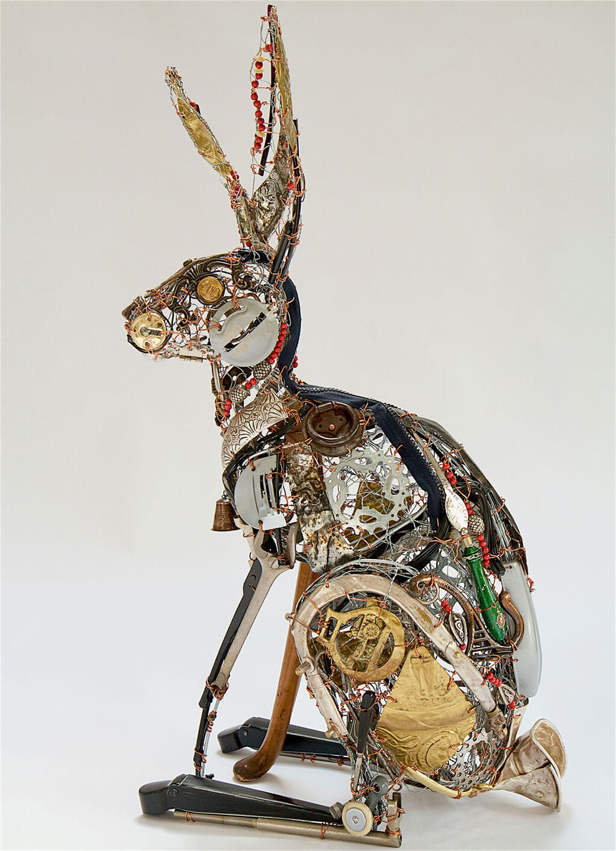 Reclaimed art by Barbara Franc