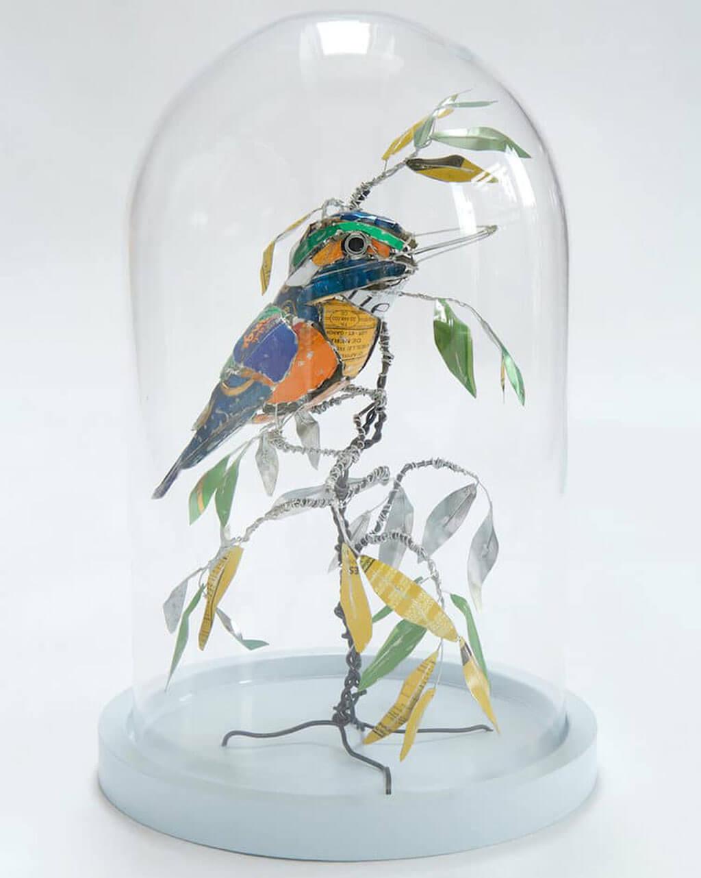 Barbara Franc upcycling art