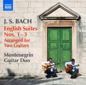 Bach: English Suites CD Cover