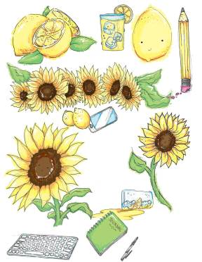 For Jenna Kahn, my cousin, her blog and business are focused on Mental Health: Sunflowers and Lemonade.