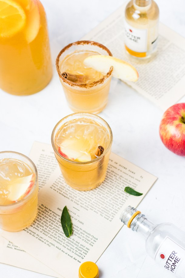 Apple Ginger Sangria -1-3