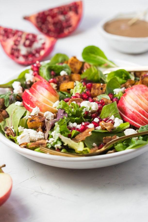 Fall Harvest Salad -1-3