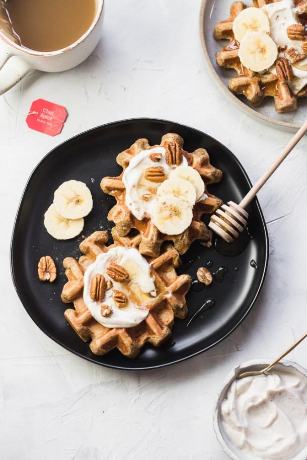 Chai Waffles -2