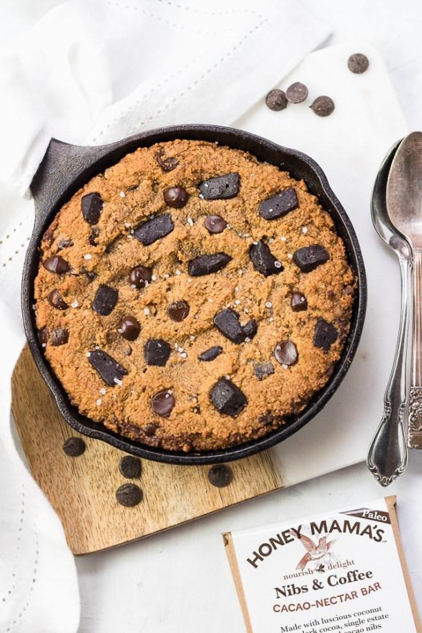 Pumpkin Skillet Cookie -1-4