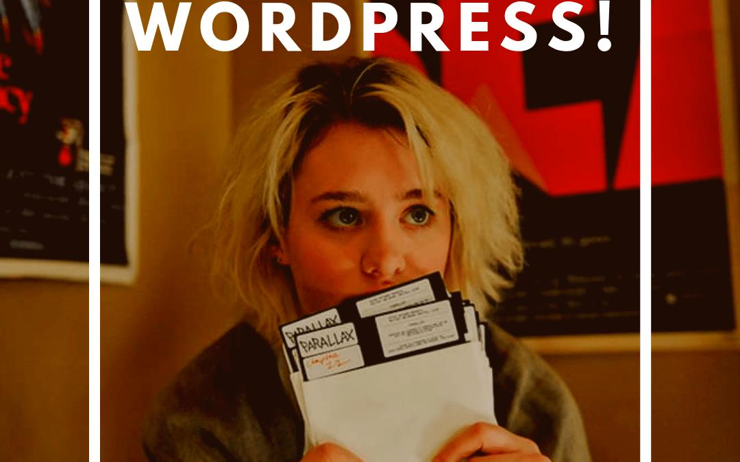 Formación WordPress Barcelona iniciación 2 días