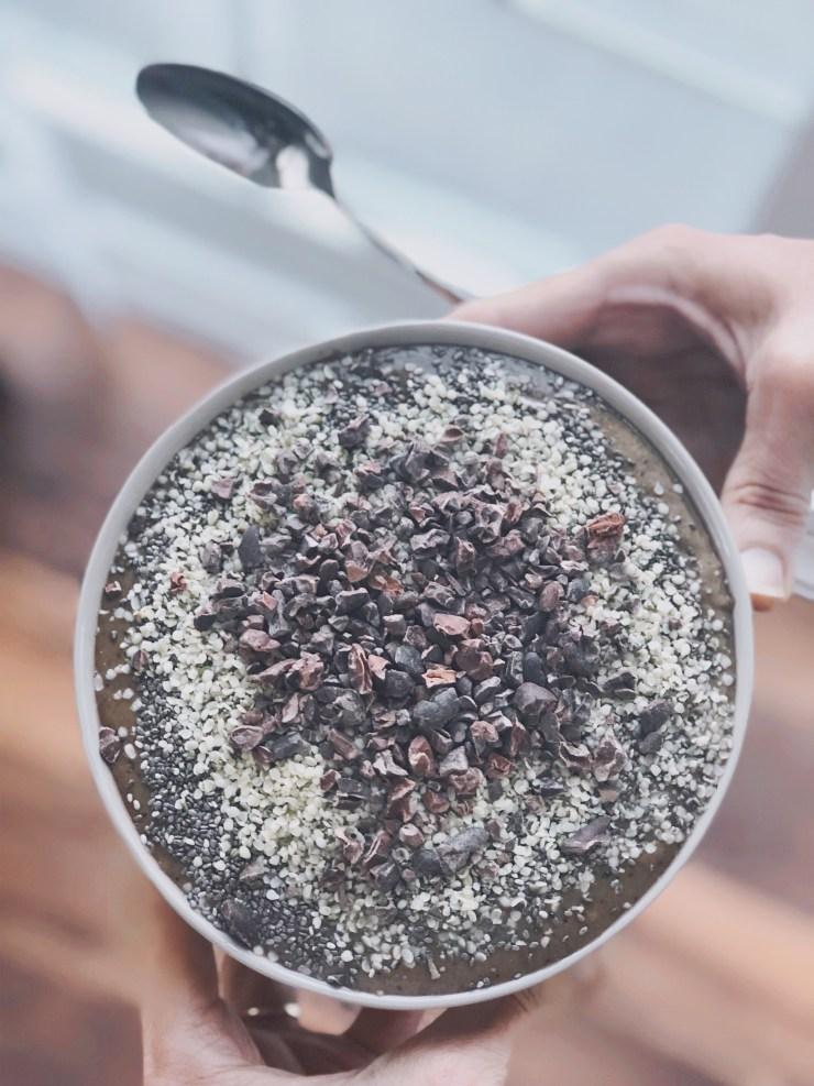 ketotarian acai anti inflmmatory plantbased vegan smoothie recipe