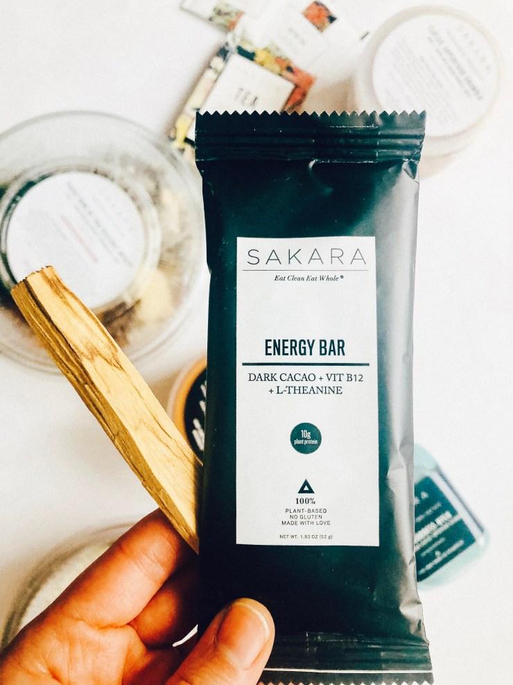 sakara energy bar