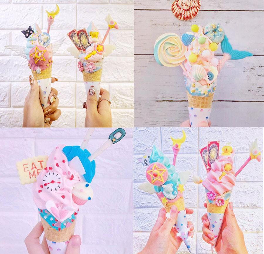 sorvete temático