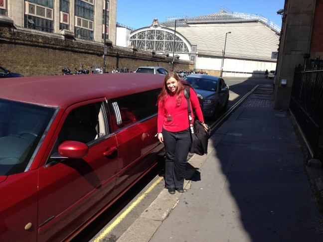 Red Queen limo ride