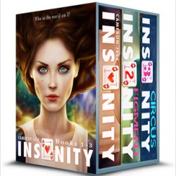 Blitz: The Insanity Series by Cameron Jace