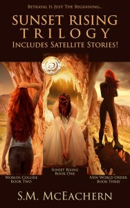 Sunset Rising Trilogy by S.M. McEachern