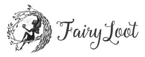 FairyLoot black on white