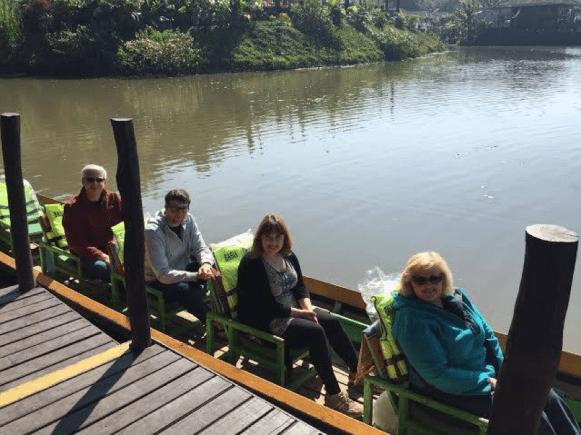 Julia Ember travel photos - boat ride