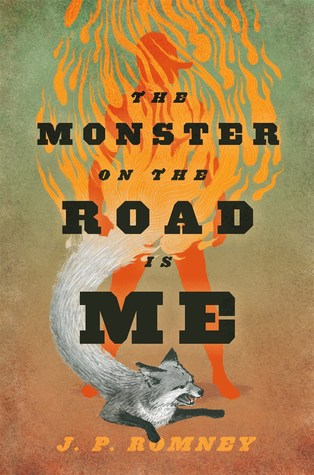 The Monster on the Road Is Me cover