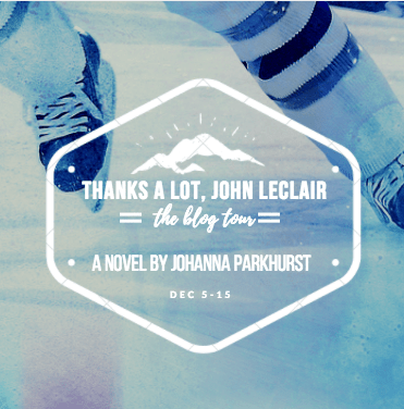 #BookReview: THANKS A LOT\\, JOHN LECLAIR by Johanna Parkhurst