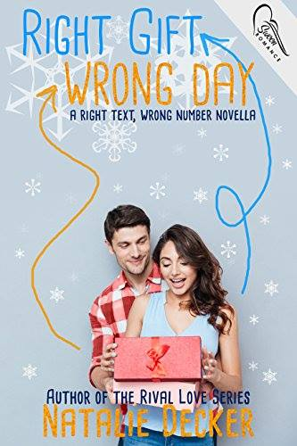 #CoverReveal: RIGHT GIFT WRONG DAY by Natalie Decker