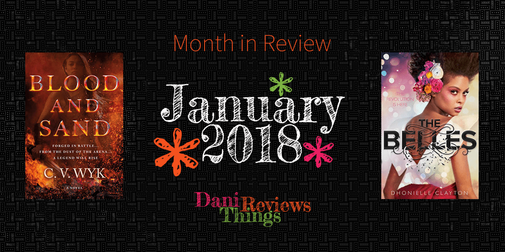 Month in Review: January 2018 (+February #TBR)